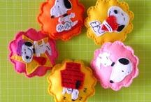 Felt Snoopy ~ Snoopy από Τσόχα