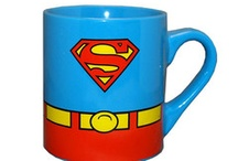 Superhero Mugs / Drink coffee showing who's your favorite superhero (or villain) on the mug. / by SimplySuperheroes.com