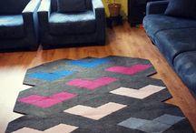 caraWonga carpets / #modular, #carpet, #geometric, #area rug, #diy, #puzzle, #modern, #contemporary, #3D, #homedecor #floor, #