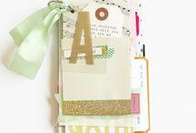 Mini book - L O V E