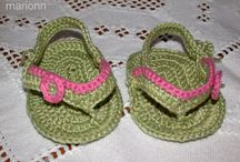 made by marionn - baby shoes, sandals