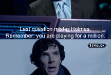 BBC Sherlock: Funny Stuff! / BBC Sherlock - the funniest pictures I could find.