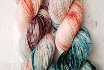 Yarn / Yarn for knitting, crochet, weaving, or just fondling and ogling.