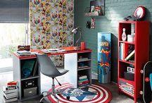 chambre garcon super heros