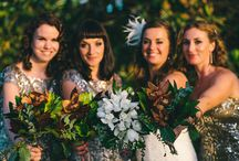 Tropical Weddings / Tropical Inspiration from our real weddings.
