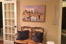 Little Silver, Dining Room Additions / Updates and Edits to Dining Room in Little Silver, NJ waterfront home.