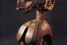 Sculpture, Masque, Statuette