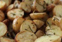 fırında taze patates