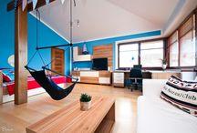 obývací pokoj hravý