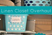 Get Organized - Linen Closet / by Barbara Miller