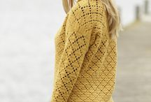 Crochet cardigans & jackets