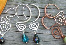 Συρμάτινα σκουλαρίκια