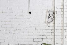 White Brick Wall / Get inspired!