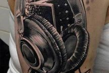 Music sleeve tattoos