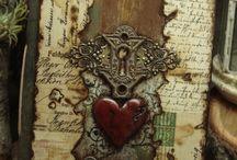 Altered books and stuff / by Karen Bennett
