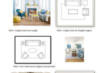 Furniture layouts / living room furniture layout that work.