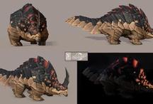 Illustration / Models - Creature / Creature Design - NO HUMAN - Animals & Monsters & Aliens / by JRMY LFBV