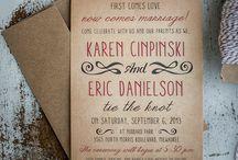 Save the Dates & Invitations