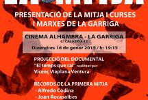 Cartells Activitats 2015 a la Garriga / Activitats a #lagarriga www.lagarriga.cat
