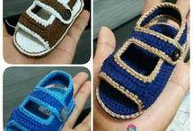 video de sandalia para bebé
