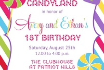 Candy Land Theme Party