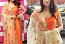 Dupatta designs and drapes