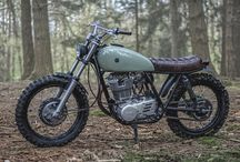 Custom Bikes Inspiration / Scrambler  & Tracker Inspiration for my Yamaha SR500