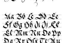 Lettering Шрифты