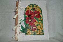 Lefűzhető lapokhoz fából készített borítók