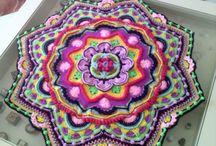 crochet mandala & tiles