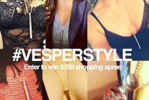 Vesper Style / We're giving away 3 $250 Crave Shopping Sprees! Post a photo wearing your Vesper to social media with #Vesperstyle to enter.  Details: http://goo.gl/Gqztn7 / by Crave