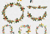 plantillas para decorar, letras