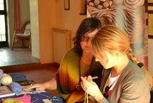 Knit Cafè e scuola di maglia / Eventi, incontri e corsi di maglia.