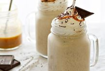 Salted Caramel Milkshakes