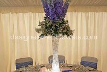 Delphinium Wedding / Beautiful wedding created with Delphiums