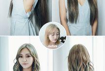 헤어 변신 (Before & After) / 핑크에이지 가발을 만난 럭키걸들. 변신의 즐거움!