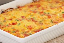 Baked vegetable and frittata