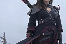Larp costume female