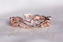 Rose Gold and gold jewelry