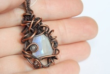 wire wrapping / by Ashley Smith
