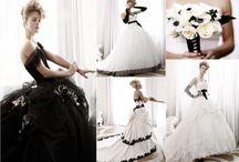 spose in bianco e nero -