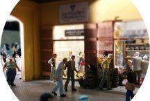 Props e Culture Opificio Milano / scenography, maquettes and theatrical props.
