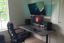 skrivebord/gamingdesk