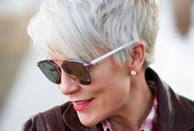 short grey hair over 50 silver