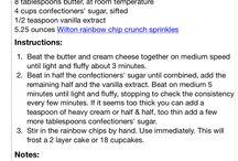 - Baking (Icing)