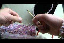 Háčkované šperky / háčkování