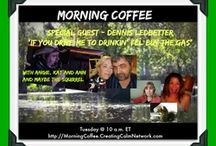 Morning Coffee on Creating Calm Network / Morning Coffee on Tuesdays from Sheboygan, Wisconsin with Ann J White, Angie Ledbetter, and Kathryn Magendie on the Creating Calm Network Broadcast http://MorningCoffee.CreatingCalmNetwork.com   http://www.creatingcalmnetwork.com/morning-coffee.html