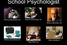 School psychology / by Mallory Frampton