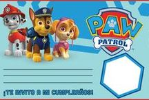 Invitaciones paw patrol.