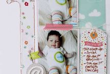 Scrapbook Layout_Baby_Month